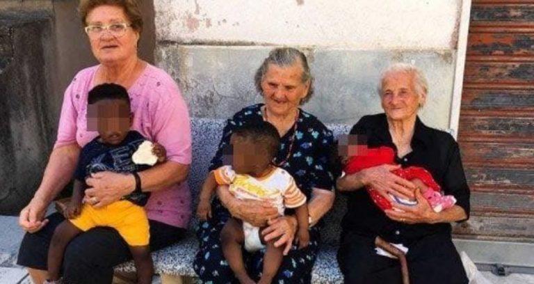 nonne bambini migranti