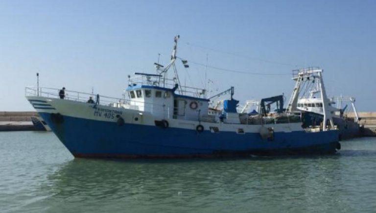 peschereccio libia