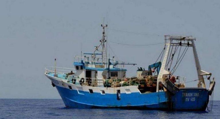 peschereccio sequestrato libia
