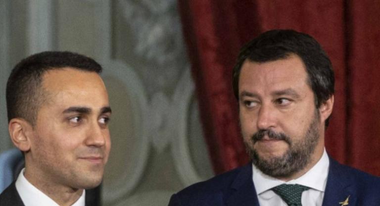 I due vicepremier Matteo Salvini e Luigi di Maio