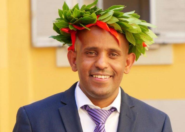 Tedros, dall'Etiopia alla laurea in Italia