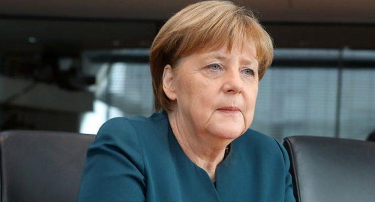 tremore Angela Merkel