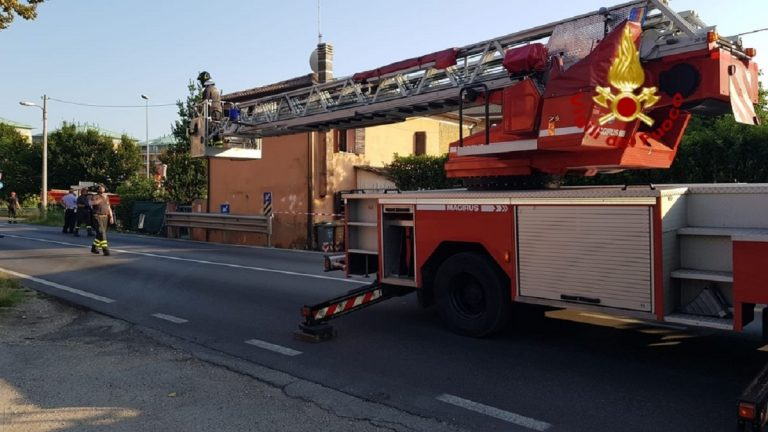 treviso casa evacuata
