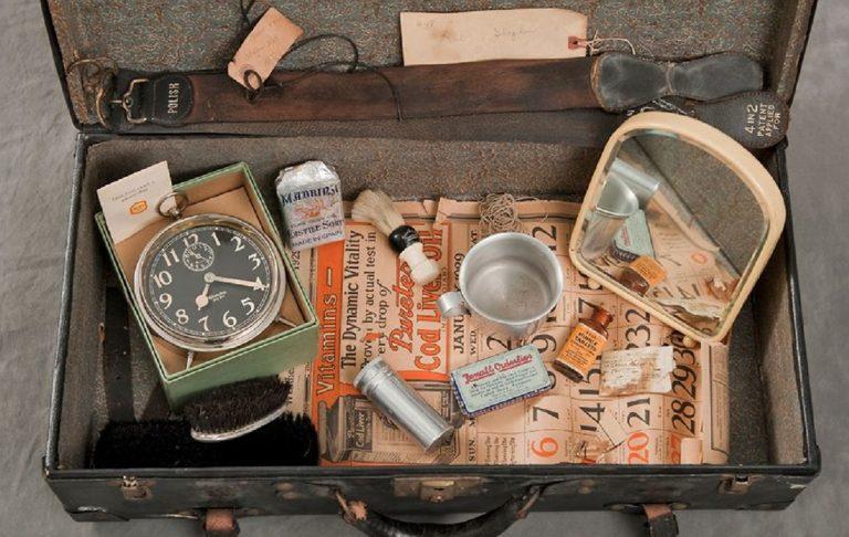 Willard Asylum, le foto delle valigie dei pazienti malati di mente