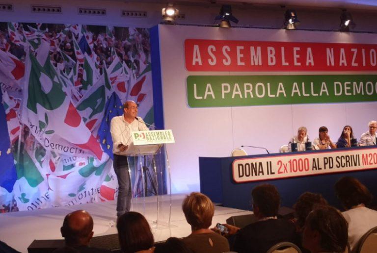 zingaretti assemblea nazionale