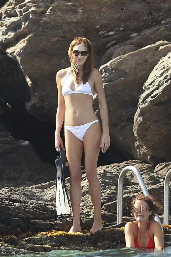 carla bruni in bikini
