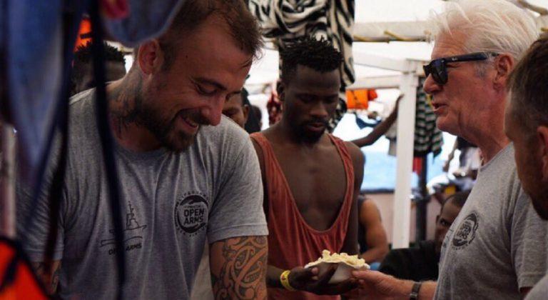 chef Rubio contro Lampedusa