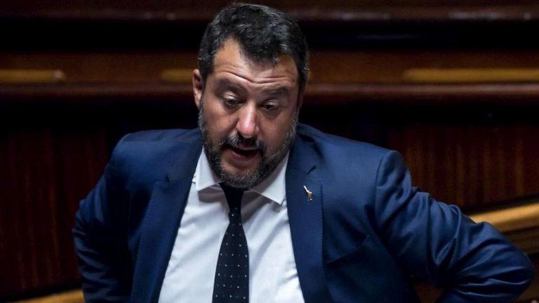 Crisi di governo Salvini social