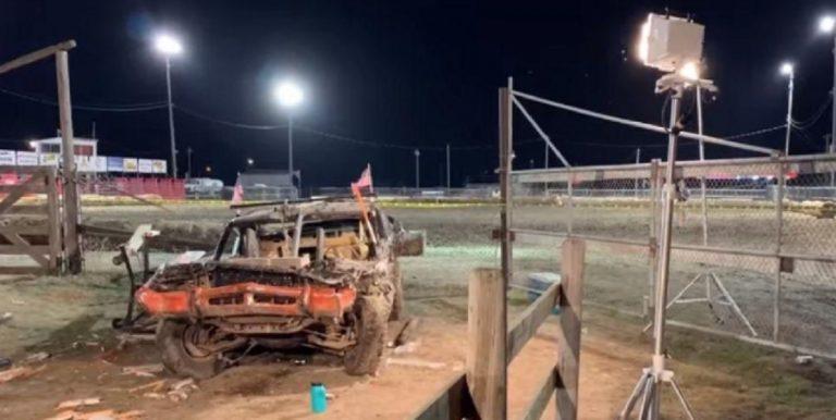 demolition derby in Montana