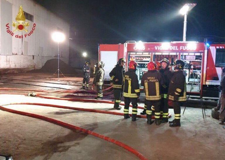Incendio centro accoglienza Milano