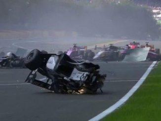 incidente formula 2