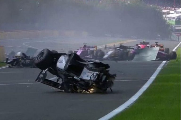 incidente formula 2