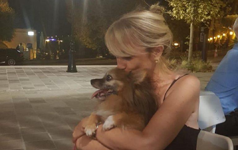 Luciana Littizzetto cagnolina Gigia morta
