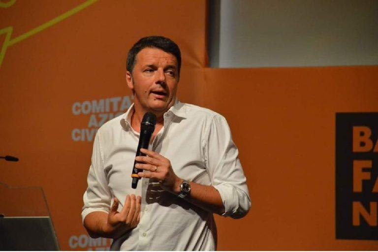 Matteo Renzi addio pd
