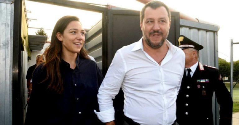Matteo Salvini Francesca Verdini lasciato tentatore
