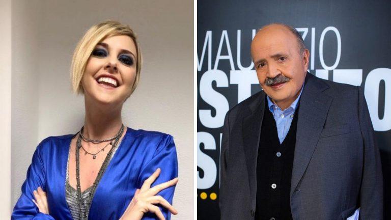 Maurizio Costanzo Nadia Toffa