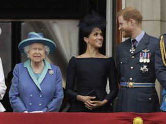 meghan markle regina elisabetta e principe harry