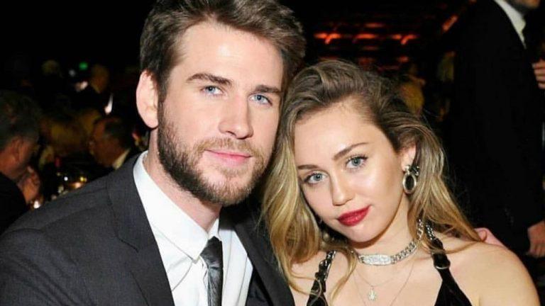 Miley Cyrus e LiamHemsworth