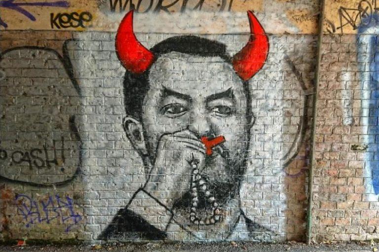 murales salvini