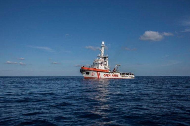 Open Arms Lampedusa oggi