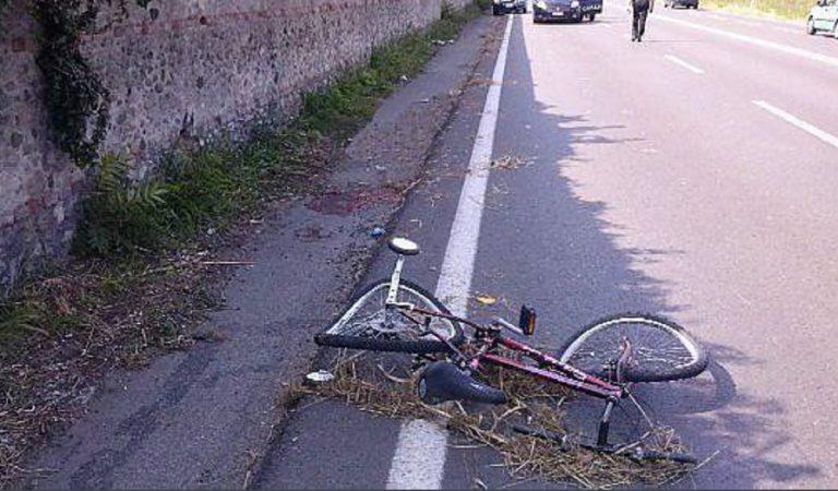 ragazza investita bici bari