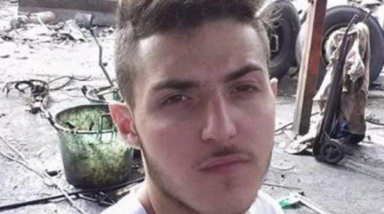 Ragazzo morto in Grecia