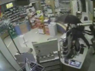 rapina farmacie ombrello