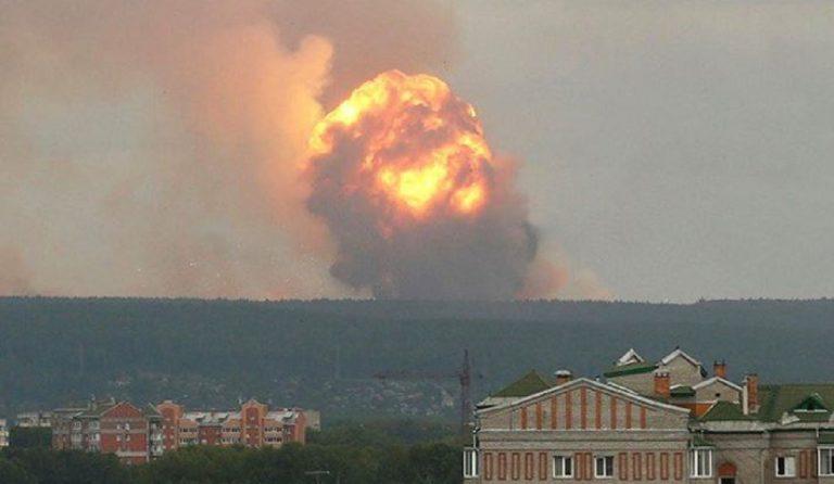 russia esplosione nucleare