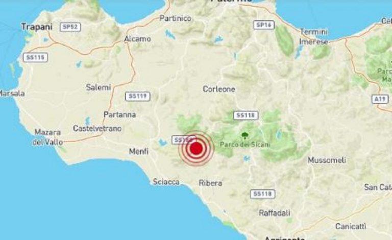 Terremoto Agrigento oggi
