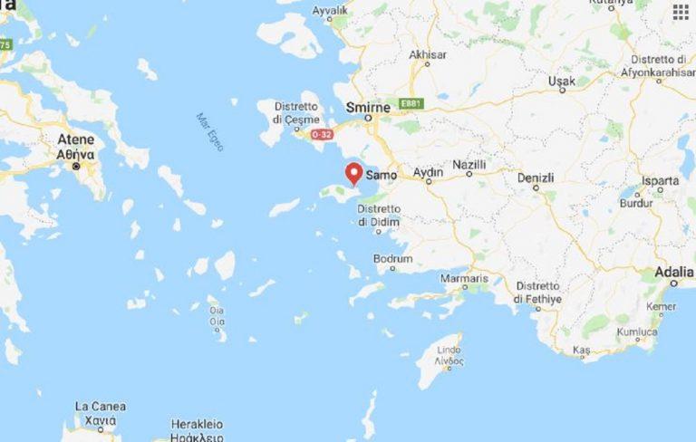 Terremoto Grecia Samos