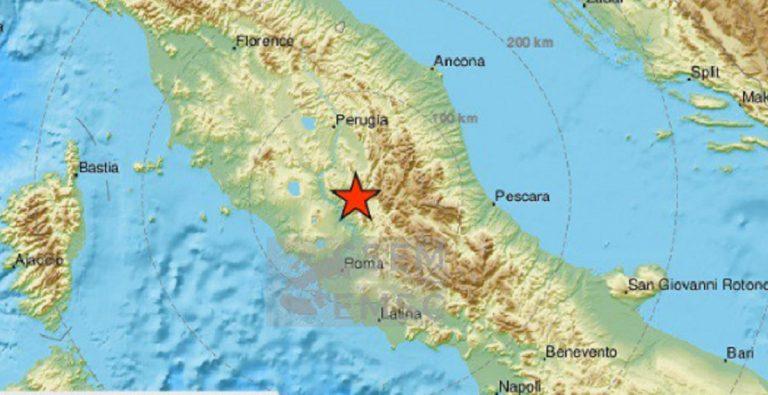 terremoto terni