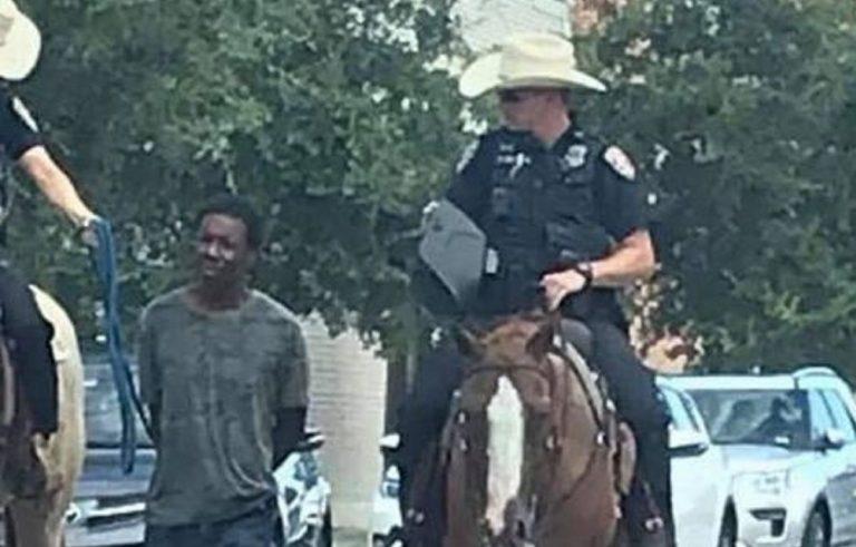 texas poliziotti a cavallo