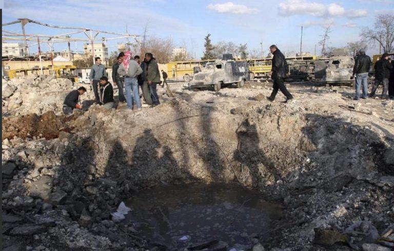 bomba ospedale siria