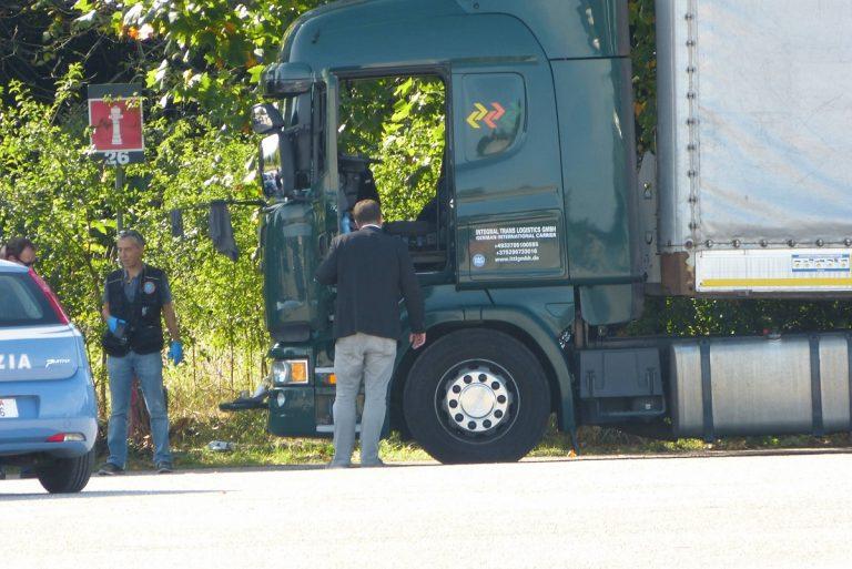camionista trovato morto