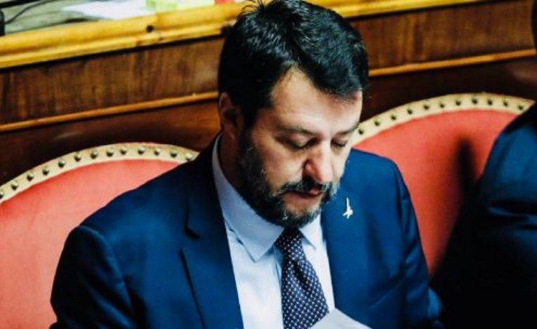 Conte bis fiducia in Senato Salvini