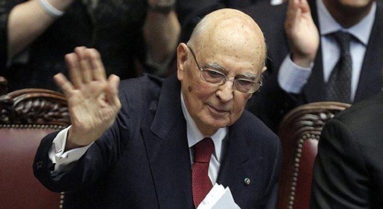 Conte bis fiducia Napolitano