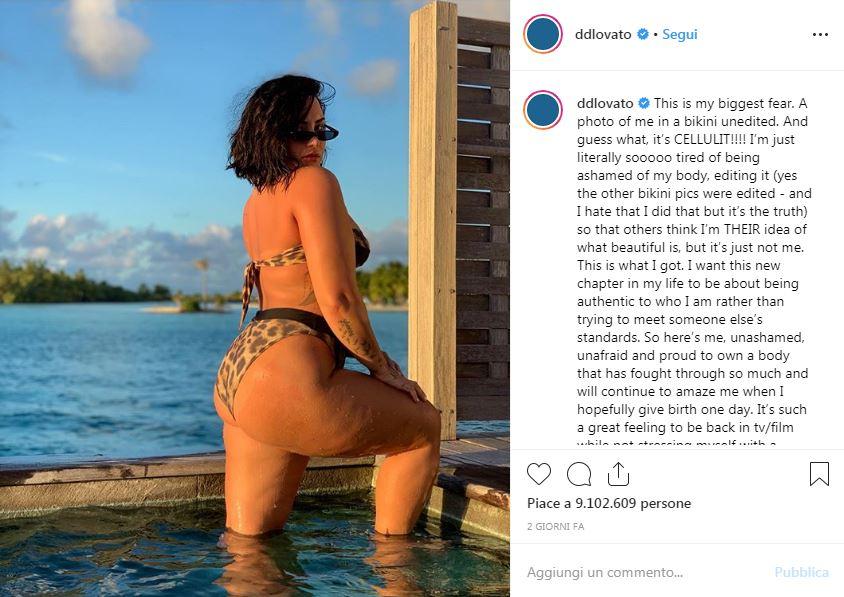 Demi Lovato post