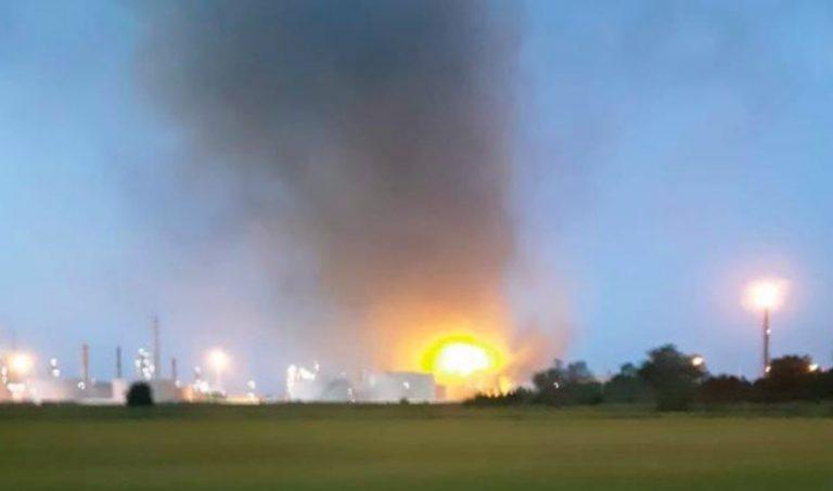 Esplosione raffineria Pavia