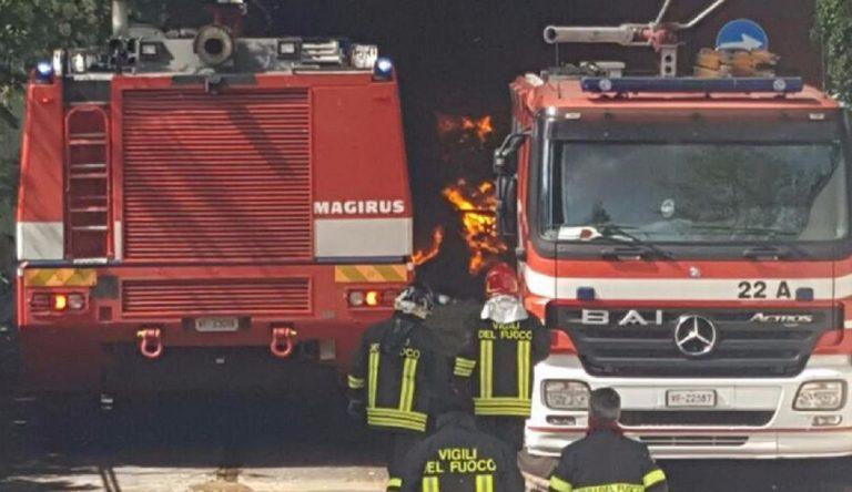 Incendio appartamento Bolzano