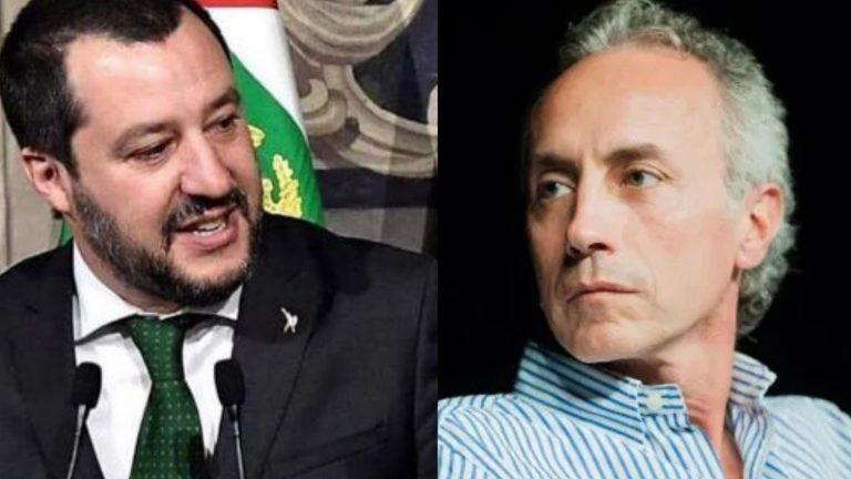 Marco Travaglio Salvini somaro