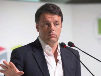 Matteo Renzi lascia pd televideo