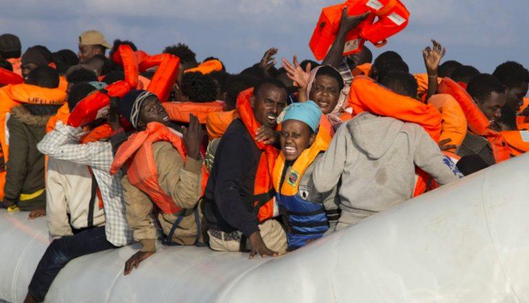 Migranti salvati dalla guardia costiera