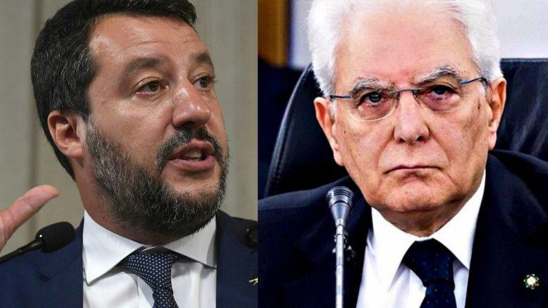 Salvini Mattarella Viminale