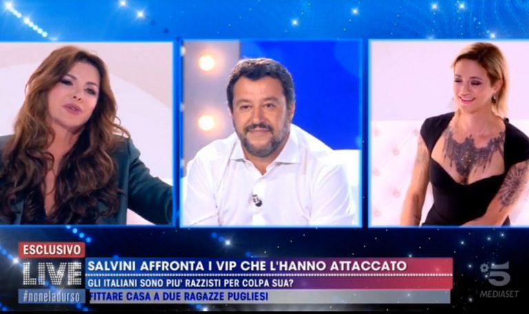 Salvini Parietti Asia Argento