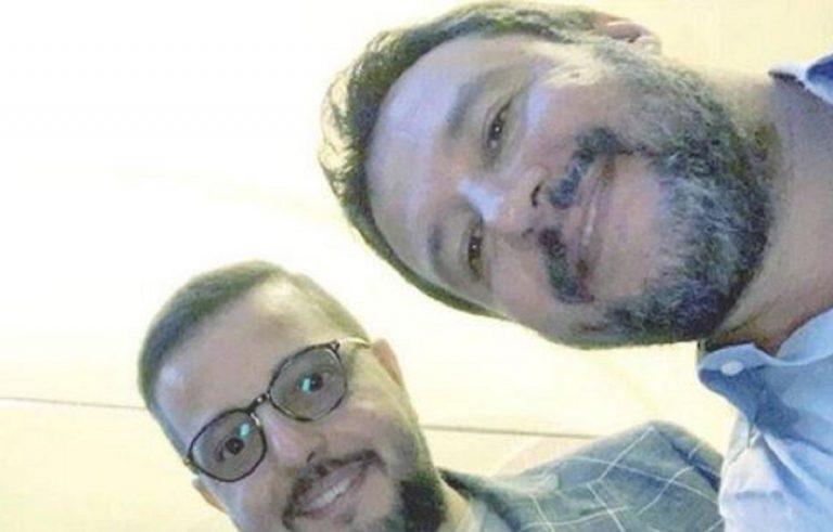 Salvini selfie figlio del boss