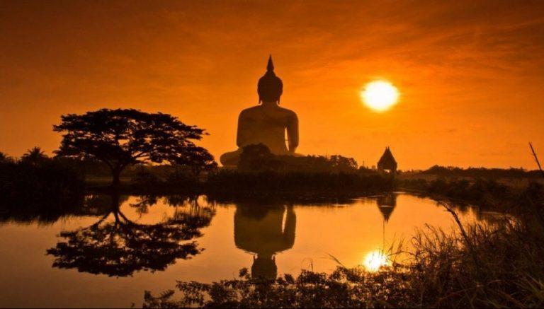 tempio buddista siccità