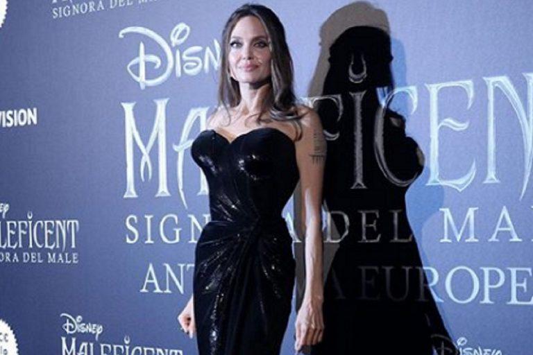 Angelina Jolie magra