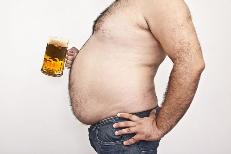 Pancia da birra.