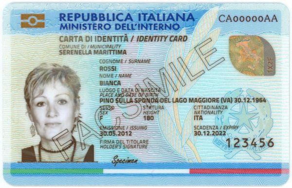 Dove Si Trova Il Numero Della Carta D Identita Elettronica