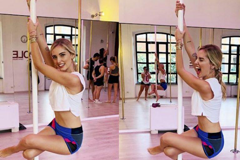 Chiara Ferragni Pole Dance